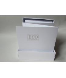 Album harmonijka 155x155 biała w pudełku