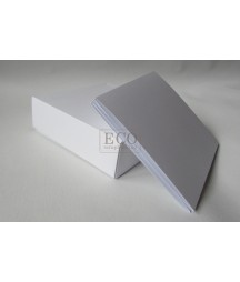 Baza albumowa do scrapbookingu - harmonijka w pudełku 15.5x15.5, biała [Eco Scrap]
