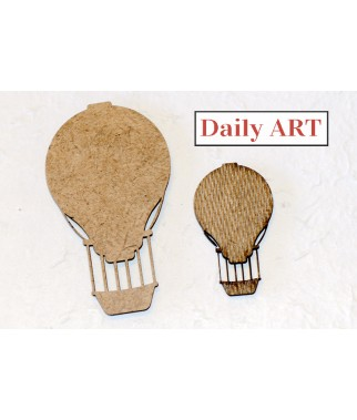 Ozdoby z HDF - balony, Daily ART
