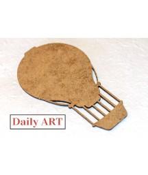 Ozdoby z HDF - balon duży, Daily ART