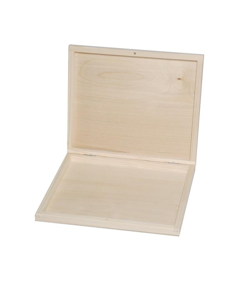Pudełko drewniane na czekoladki Merci - baza do decoupage