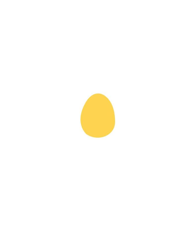 Dziurkacz ozdobny - jajko 2,5 cm