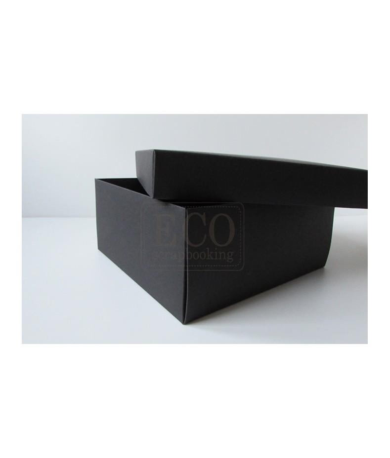 Pudełko 222x212x85mm - czarne.