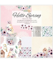 Bloczek papierów - Hello Spring
