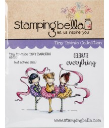Stemple gumowe, Stamping Bella Cling Stamp, Tiny Townies - Tiny Dancers [EB310]