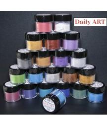 Pigment perłowy Daily Art, proszek mikowy, Blue - niebieski, 5 g