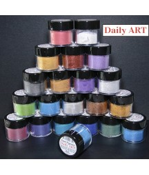 Pigment perłowy Daily Art, proszek mikowy, Violet - fioletowy, 5 g