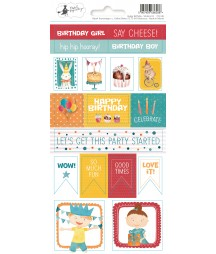 Naklejki z kolekcji Happy Birthday, Piątek Trzynastego