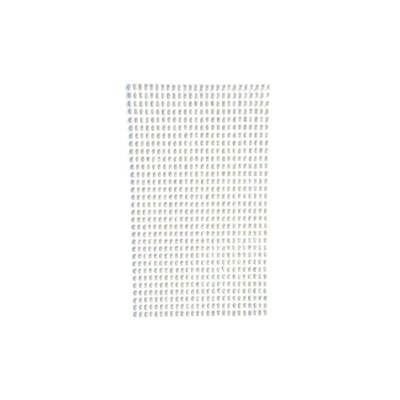 Kryształki do scrapbookingu, wielka paczka 806 szt. Opalescent Cream GRKR-048