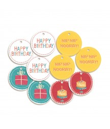 Zestaw tagów Happy Birthday, Piątek Trzynastego