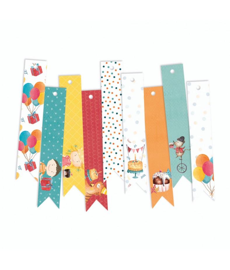 Zestaw tagów Happy Birhday, Piątek Trzynastego
