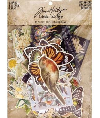Papierowe wycinanki, Tim Holtz Idea-ology Die-cuts - Botanical
