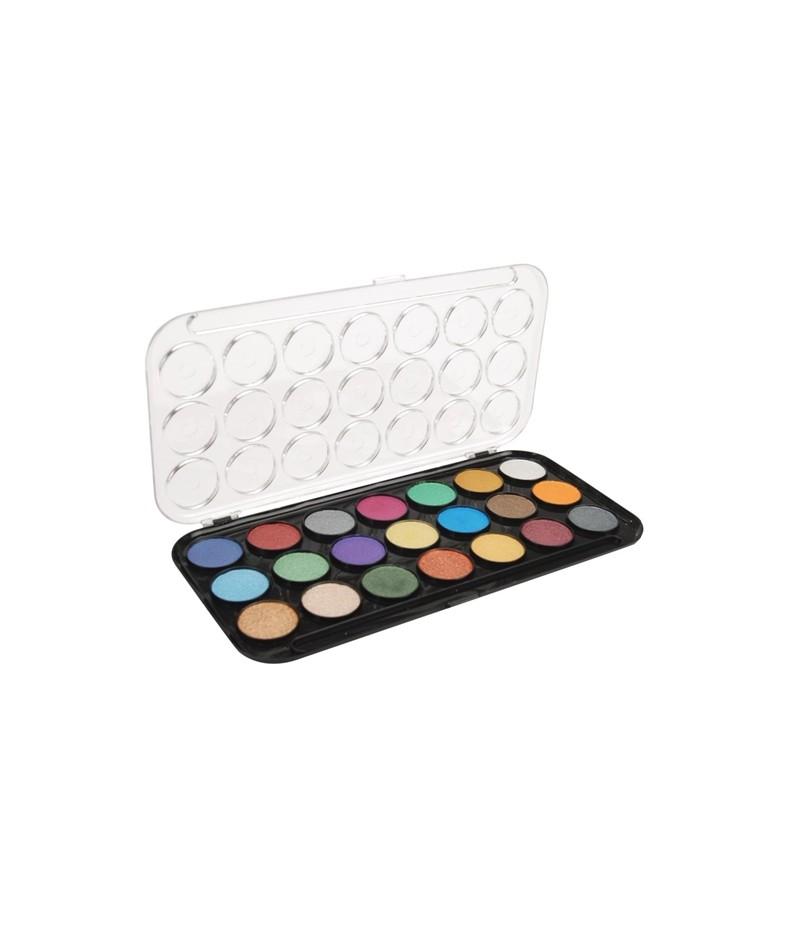 Akwarele perłowe Yasumoto 21 kolorów