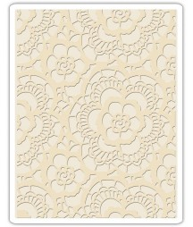 Folder do embossingu, Sizzix Tim Holtz Alterations, Texture Fades - Lace 661824