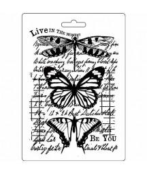 Forma do mas strukturalnych A5 Stamperia, Motyle i ważka