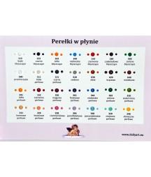 Perełki w płynie Daily ART, pearl black - czarne perłowe, 25 ml