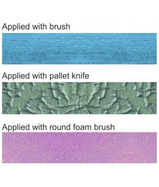 Satynowe pasty strukturalne Daily ART - sposób nakładania a efekt