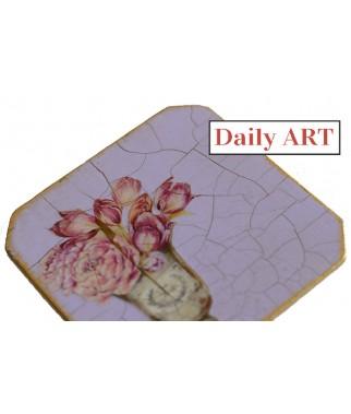 Spękania porcelanowe Web Daily Art - przykład zastosowania