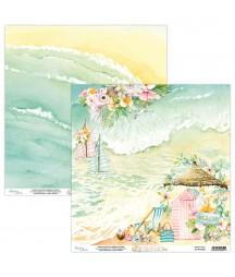 Papier do scrapbookingu Mintay Papers - Paradise 03