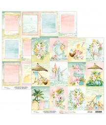 Papier do scrapbookingu Mintay Papers - Paradise 06