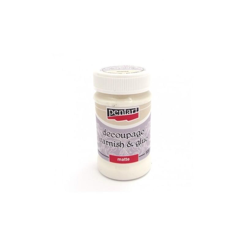 Klej i lakier do decoupage Pentart - matowy 100 ml