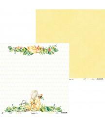 Papier do scrapbookingu z kolekcji Sunshine - Piątek Trzynastego