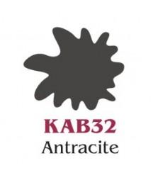 Farba akrylowa Vivace Stamperia 60 ml, KAB32 antracyt - ciemny szary