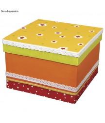 Pudełko z paper mache - baza do ozdabiania RY-71753000