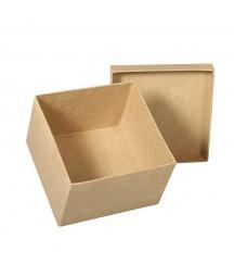 Pudełko z paper mache - do ozdabiania