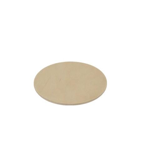 Drewniana okrągła podkładka pod kubek - baza do decoupage