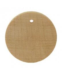 Drewniana biżuteria - kółko 2 cm