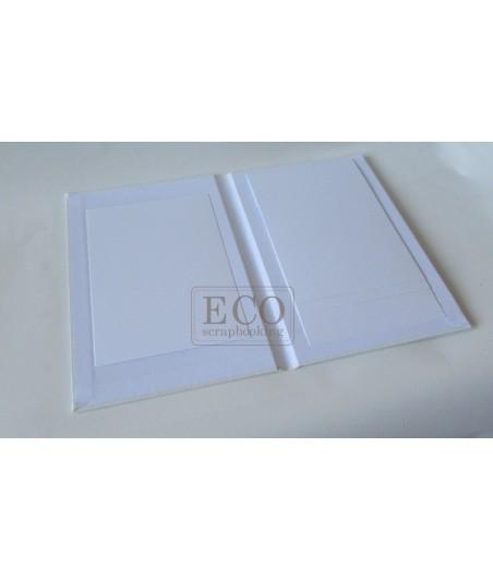 Baza albumowa kaskada I - biała - pion [Eco Scrapbooking]