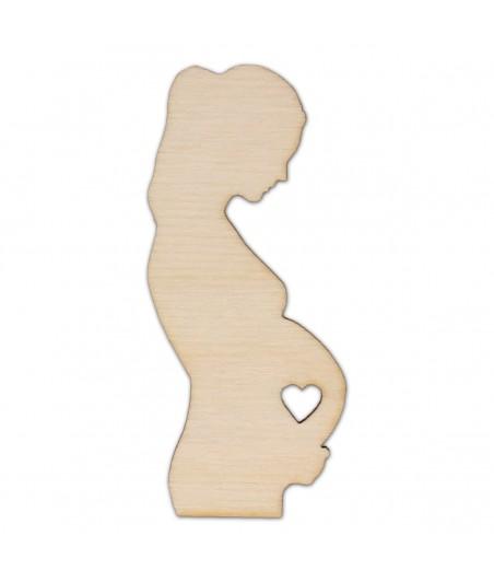 Ozdoba ze sklejki, Kobieta w ciąży AD1033