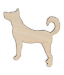 Ozdoba ze sklejki, Pies AD654