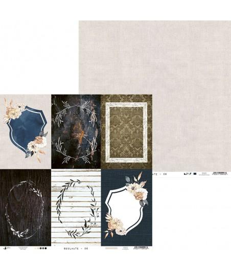 Papier do scrapbookingu 12x12, Soulmate 06 [P13]