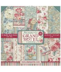 Zestaw papierów do scrapbookingu, Stamperia Grand Hotel SBBL57