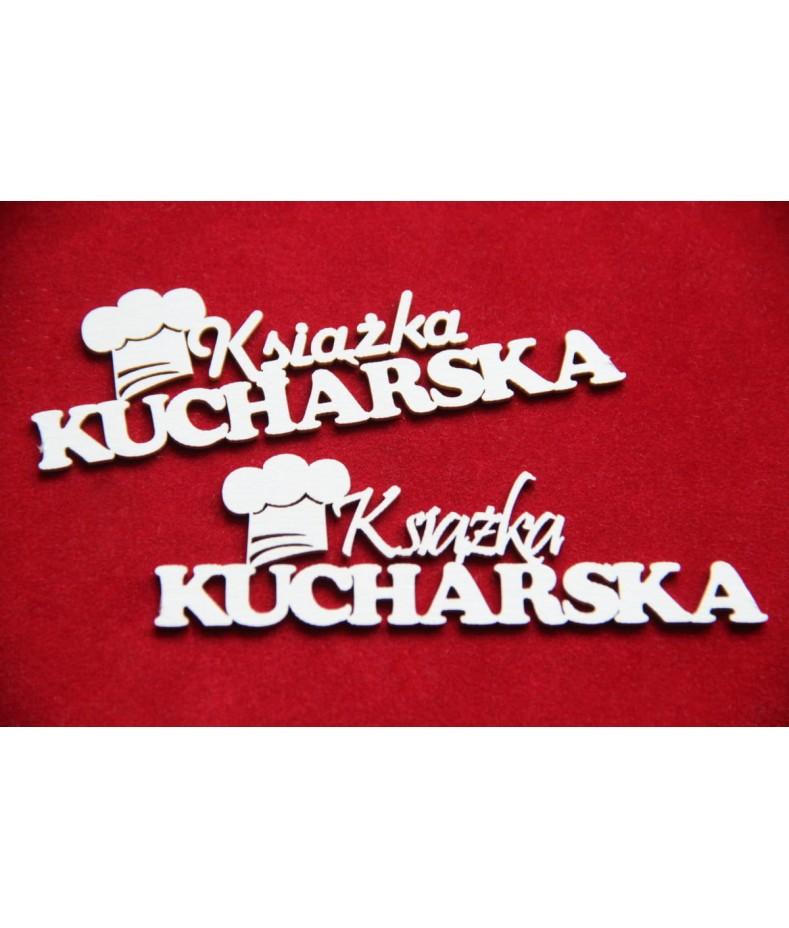 Tekturki do scrapbookingu Scrapiniec - Książka kucharska