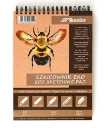 Szkicownik A5 z papierem eko, 25 ark. 225 g/m2 - Leniar