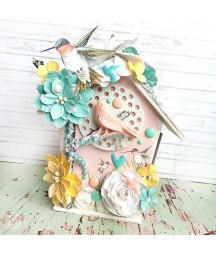Dekory samoprzylepne DP Craft, Tropical Dreams 8 szt. DPZA-003
