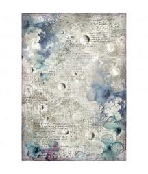 Papier ryżowy Stamperia A4. Cosmos - galaktyczne tło