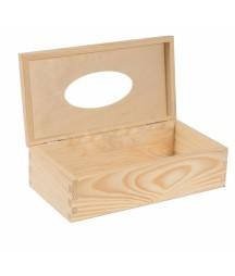 Chustecznik drewniany z wiekiem CH216