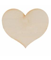 Serce 4 cm z dziurką - zawieszka ZS104B