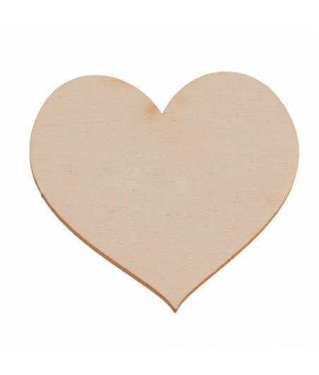 Serce ze sklejki 6 cm ZS106B