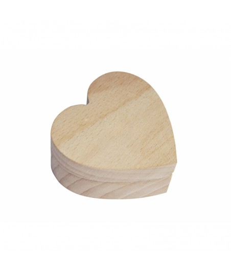 Pudełko serce 2,5 cm PZ474 - na obrączkę