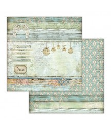 Papier do scrapbookingu 12x12, Stamperia - Make a Wish SBB651 - anielskie tło