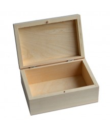 Pudełko drewniane kwadratowe 16,5x11 do decoupage PZ235