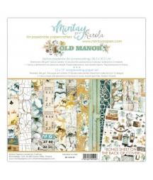 Zestaw papierów do scrapbookingu Old Manor - Mintay Papers