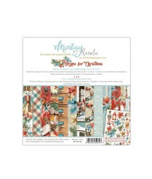 Bloczek do scrapbookingu 6x6 Home for Christmas - Mintay Papers