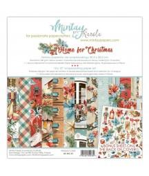 Zestaw papierów do scrapbookingu Home for Christmas - Mintay Papers