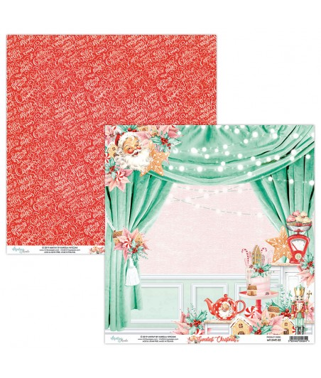 Papier do scrapbookingu Mintay Papers - Sweetest Christmas 02